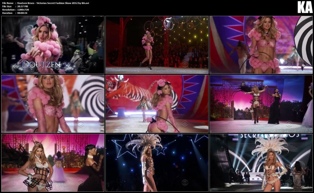 Doutzen Kroes - Victorias Secret Fashion Show 2012 by KA.avi