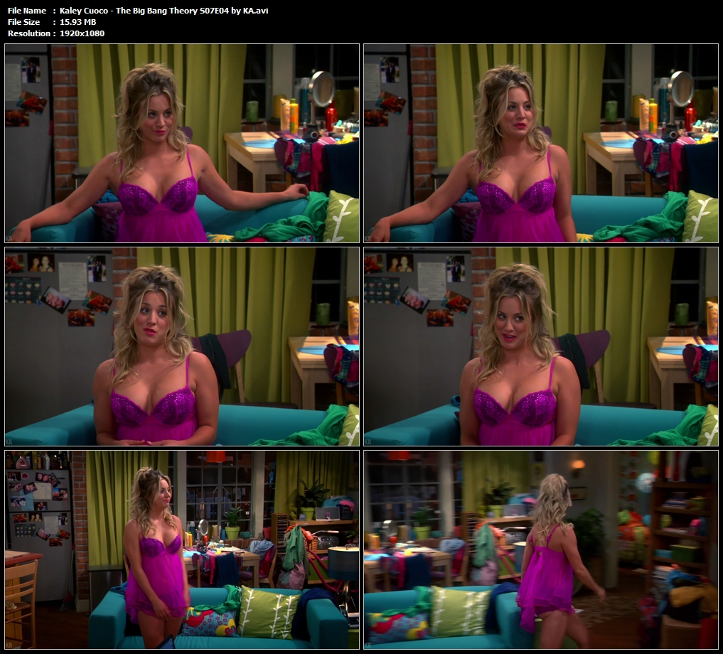 Kaley Cuoco - The Big Bang Theory S07E04 by KA.avi