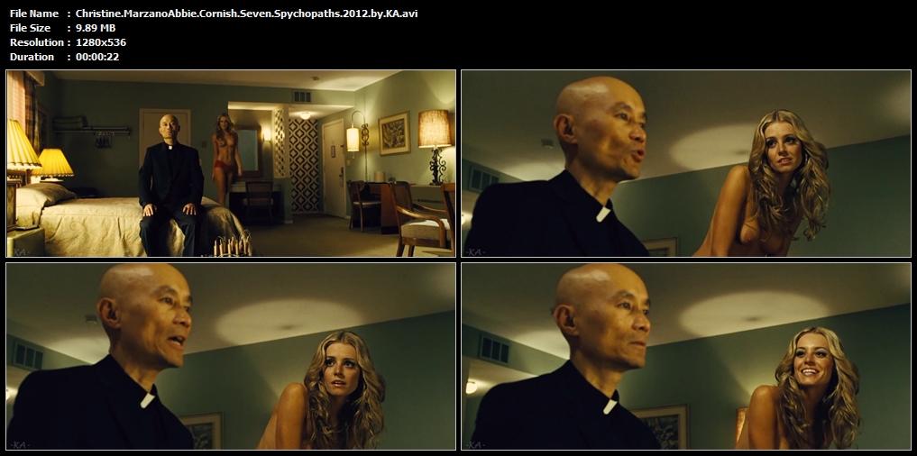 Christine.MarzanoAbbie.Cornish.Seven.Spychopaths.2012.by.KA.avi