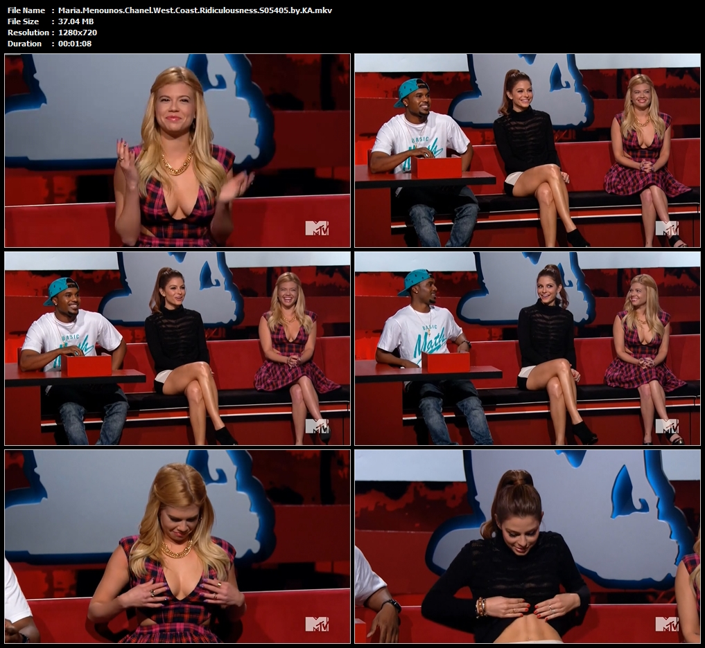 Maria.Menounos.Chanel.West.Coast.Ridiculousness.S05405.by.KA.mkv