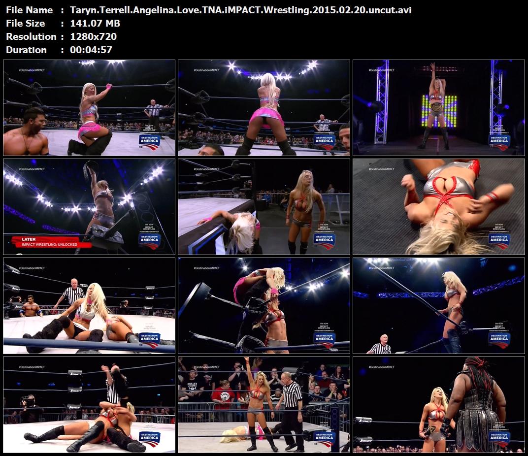 Taryn.Terrell.Angelina.Love.TNA.iMPACT.Wrestling.2015.02.20.uncut.avi