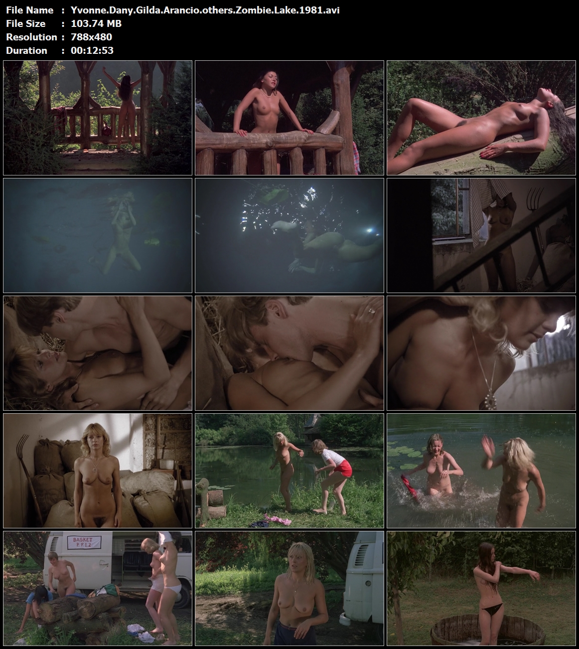 Yvonne.Dany.Gilda.Arancio.others.Zombie.Lake.1981.avi