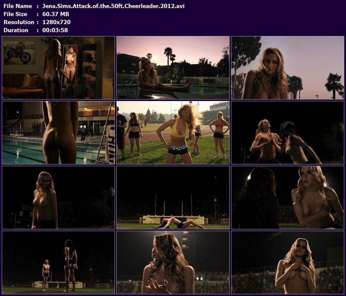 Jena.Sims.Attack.of.the.50ft.Cheerleader.2012.avi