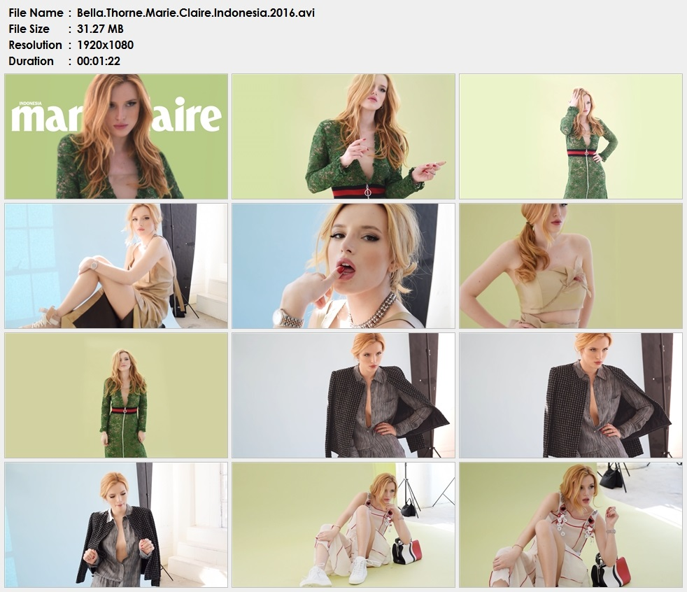 Bella.Thorne.Marie.Claire.Indonesia.2016.avi