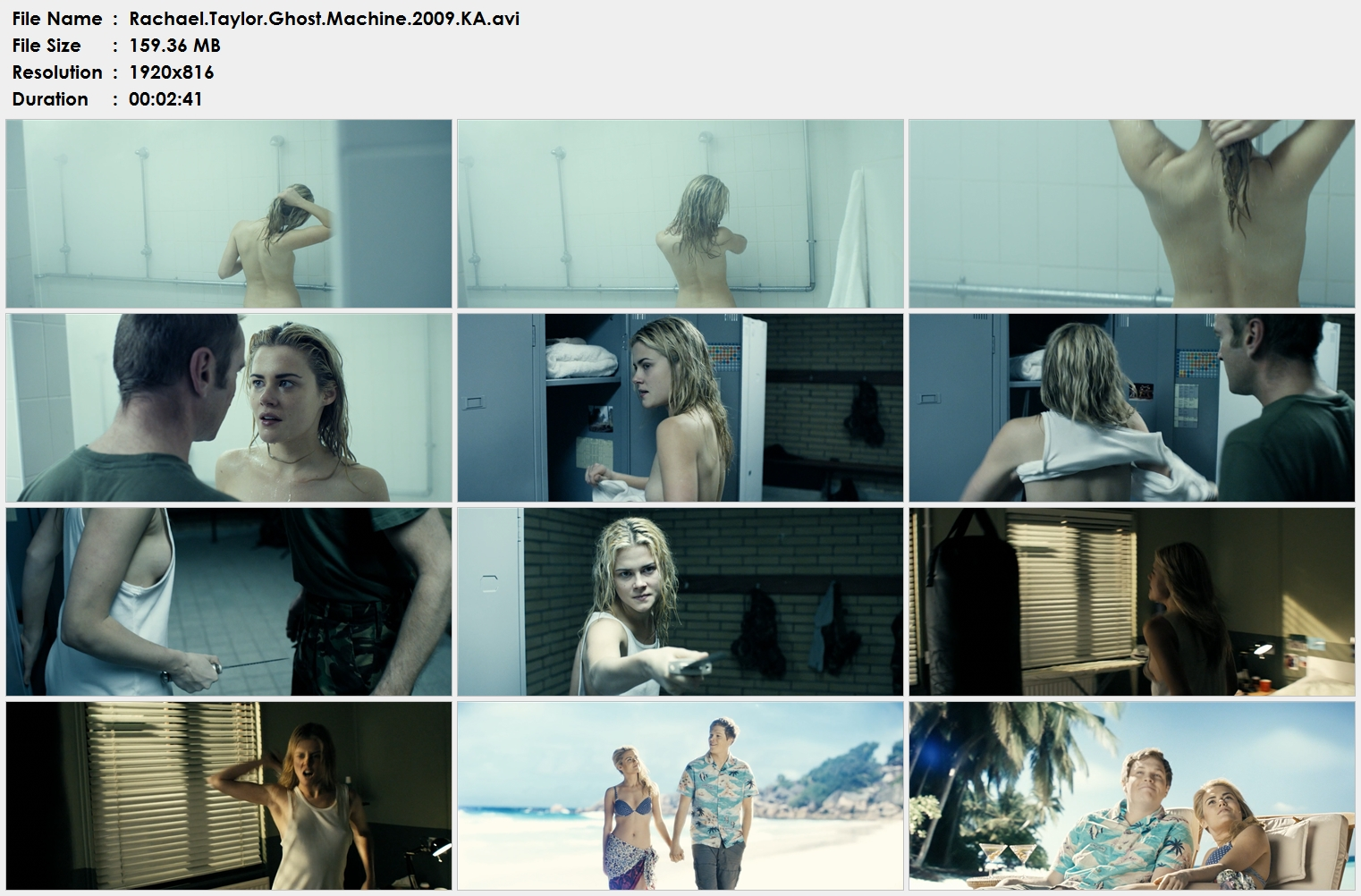 Rachael.Taylor.Ghost.Machine.2009.KA.avi