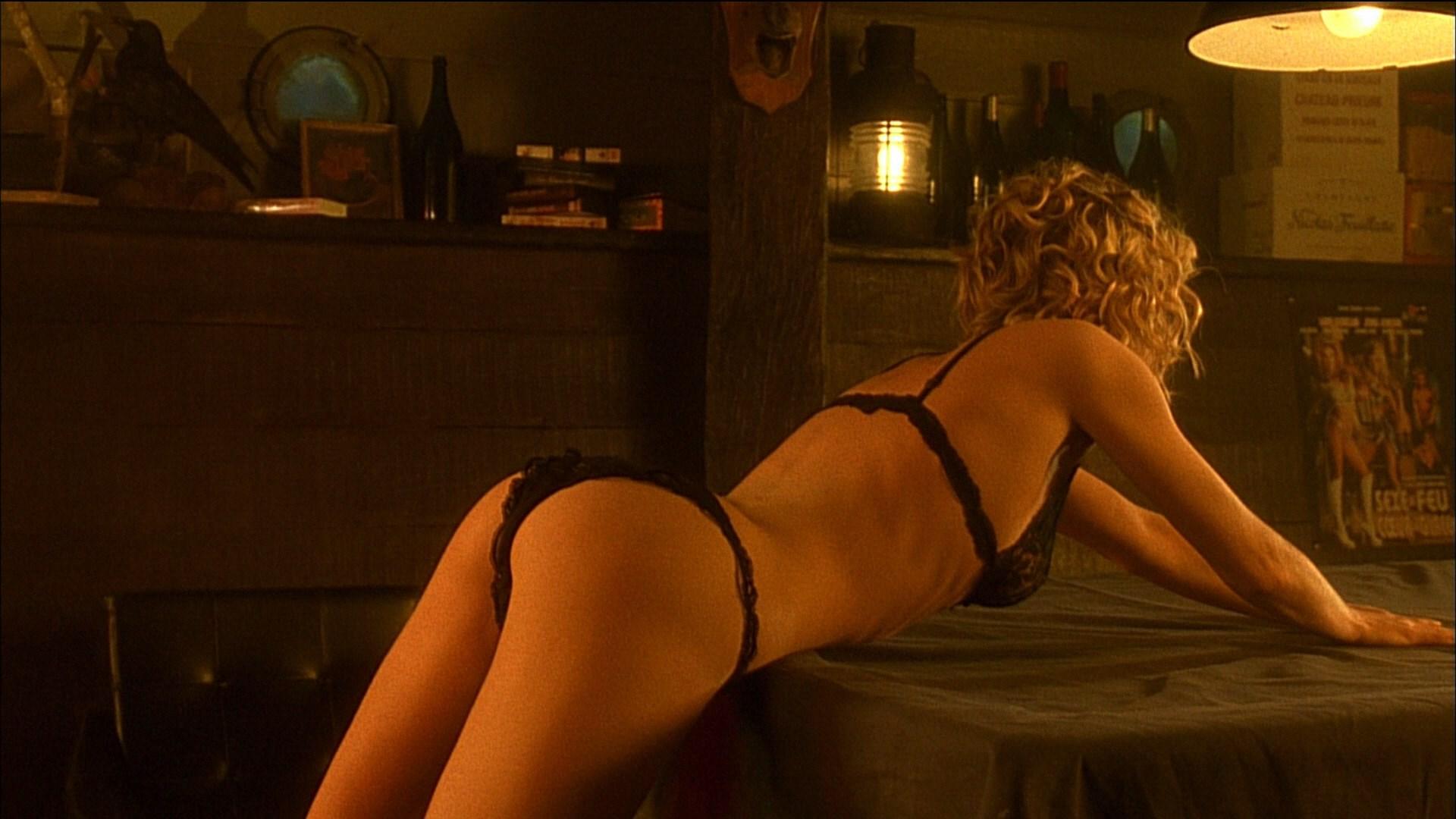 Question something Fatale femme rebecca romijn nude