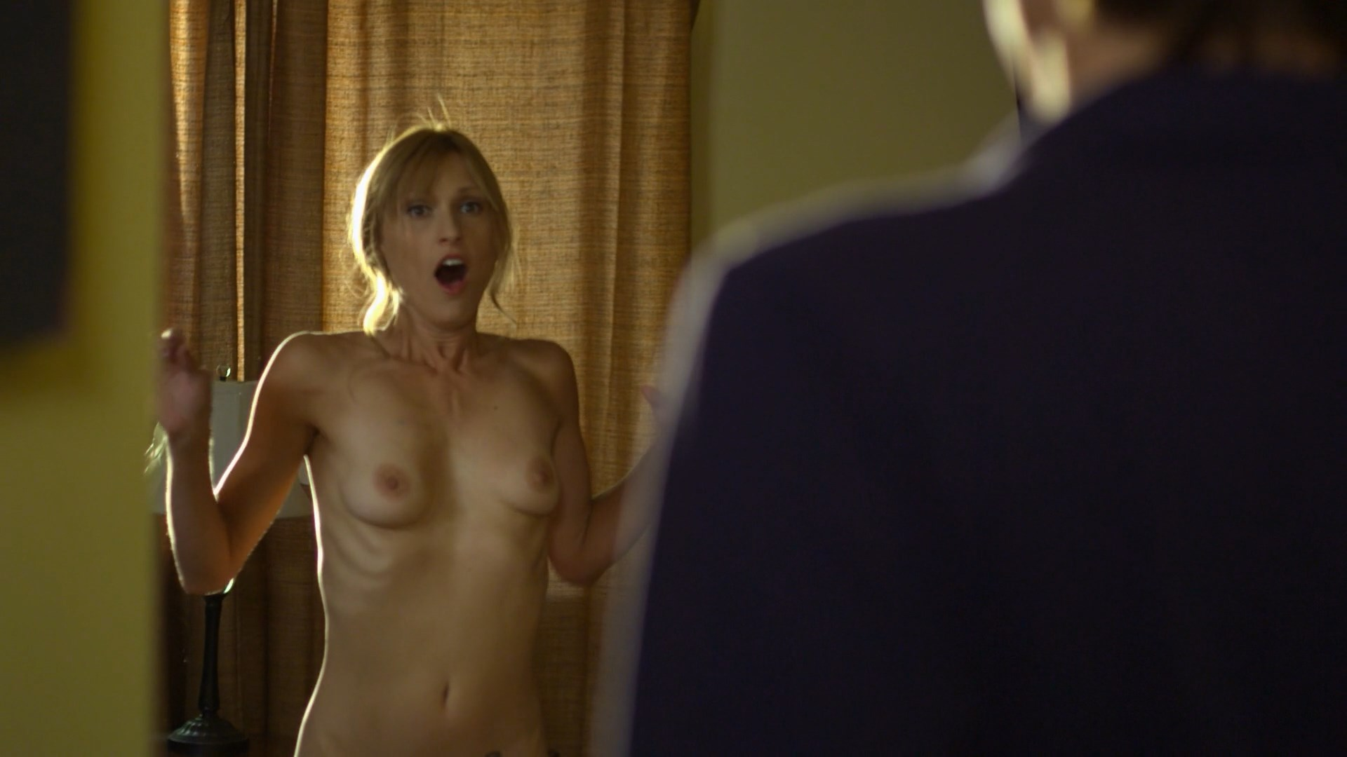 Naked Christine Harnos In Getting Off Ancensored