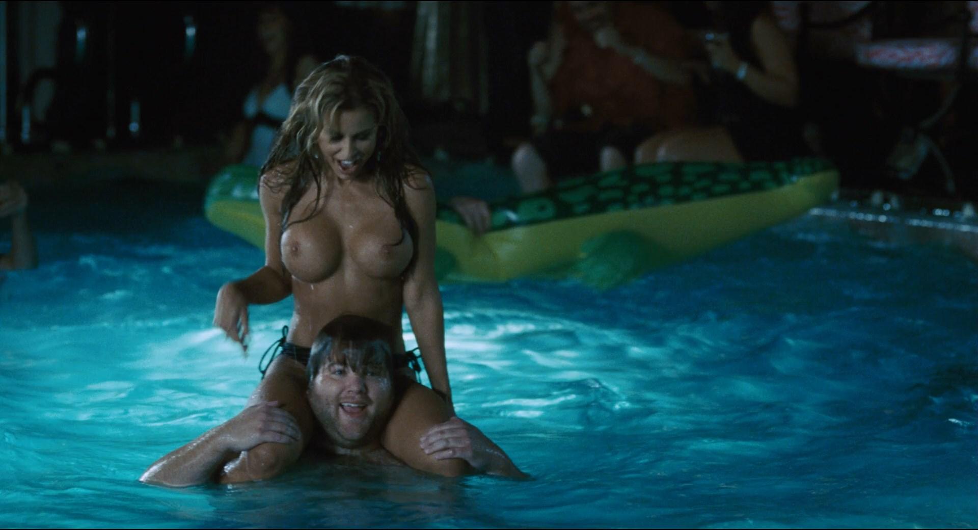 Ashley benson, vanessa hudgens james franco threesome pool scene